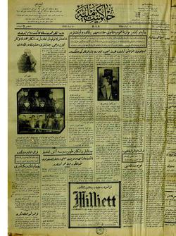 Hakimiyet-i Milliye Gazetesi 10 Nisan 1927 kapağı