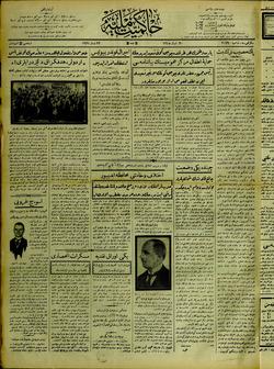 Hakimiyet-i Milliye Gazetesi 22 Nisan 1927 kapağı