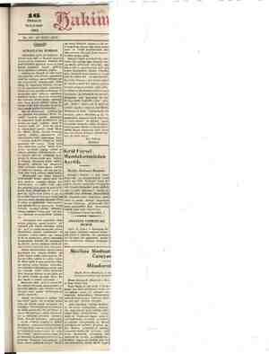 MUZ PERŞEMBE 1931 No.. 3591 ON İKİNCİ SENE, Gündelik, ALMANYA'DA BUHRAN. Kranasam Diş bir yoktur. Ümüdimiz şu ki, bu Faysel