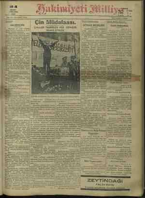 28 ŞUBAT ÇARŞAMBA 1932 No: 3812: ON ÜÇÜNCÜ: SENE. © Gündelik. HALKEVLERİ. en hâdisesi, ve 14 vi- yanında vergisinin şarkı...