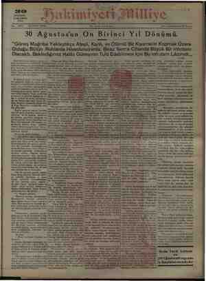 AAA o imiyeii J ili © Her yerde (5) kuruş i Adres değiştirmek 50 kuruş AĞUSTOS ÇARŞAMBA 1923 30 AğustOzuk GE Bilir...