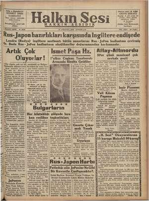 | — E ve Başmuharriri MEHMET SIRRI IDAREHANESİ İzmir Birinci BEYLE SOKAĞINDA —vee— Dercedilmiyen evrak iade edilmez r mi...