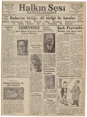 """Sahip ve Başmukarriri """"MEHMET SIRRI JDAREHANESI İzmir Birinci BEYLER SOKAĞIND —0— Bereedilmiyen evrak iade edilmez Ha AKKIN"""