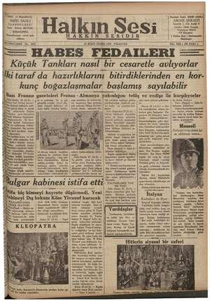 """© Sahib"""" ve Başm Neşriyat Âmiri SIRRI SANLI SIRRI, SANLI ABONE ŞERAİTİ İDAREHANESI ere Seneliği 7, Altı Aylığı 4 İzmir..."""