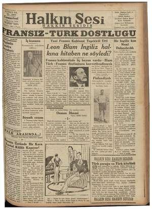 "ALTINCI Y NO. 280 3 şimartesi Ma 1 LER Narı ON 35) Tİ (100 ) Para Halkın Sesi SESİDİR İRANSIZ-TI ""TURK DOSTLUGU Sahib,..."