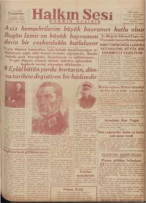 ahıh egri - | SIRRI SANLI | lda:ehane: İzmirde Bi Beyler Sokağında | (Halkın Se) ne SESIDIR meme 9. Eylül; 1936 «TELEFON