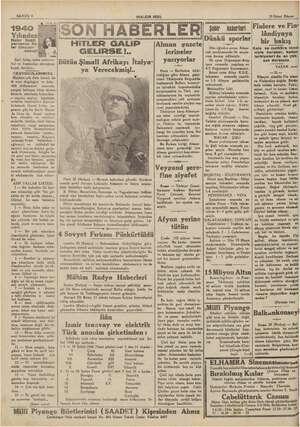 : SAHİFE 4 1940 Yılından! Neler Bekli- yorsunuz, Ne. ler Umuyor- sunuz? İZ e Asri fallar, salon eylewce- leri ve bunlardan