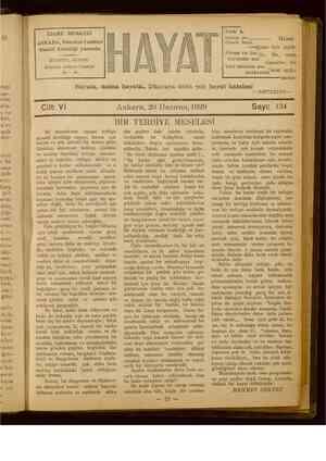 Hayat Dergisi 20 Haziran 1929 kapağı