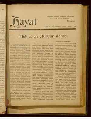 Hayat Dergisi 15 Temmuz 1929 kapağı