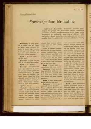 """EE elime Ti makam ÜL aş İİ ke ör iz ei ir Dol arp edebiyatındari & HAYAT, 14. """"EFantaziyo,,dan bir sahne Fantaziyo— Şu"""