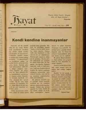 Hayat Dergisi 1 Eylül 1929 kapağı
