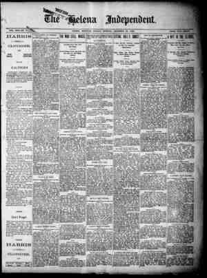 "SVOL, XXbXna-,,uNn """"n XLIN .. HELENA, MONTANA. MONDAY MORNING, DECEMBER 22. 1880. PRI., t -THE CLOTHIER. ONE SQUARE PRICE,"