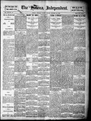 . r G TRi RUSSI ly STORY 1e91,''t for 1891..... VOL. XXXI-NO 324 HELENA, MONTANA. UESbAY MORNING, DECEMBER 28, 1890. PRIG P -