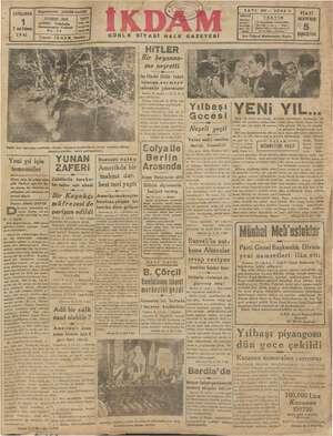 ÇARŞAMBA 2 nciKânun 1941 GÜNLK SİYASİ HALK GAZETESİ SAYI 503— SENE 3 DİKKAT e ei HERYERDE Bönderi - | 4 gi 34 den evrak Yü: