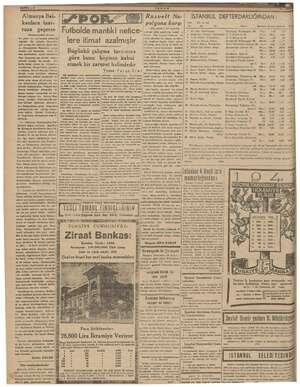 Almanya Bal- Sİ 1 Ruzvelt Na- kanlara taar- > m N   polyona karşı in Adı ve soy (Baş tarafı 2 nci sayfada) aça eçerse w i...