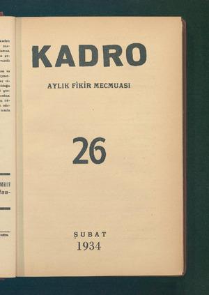 eti bas- laLEr lüiz. n ge- vusilü ve AYLIK FİKİR MECMUASI Vilit aa- Ca SUBAT 1954 ...