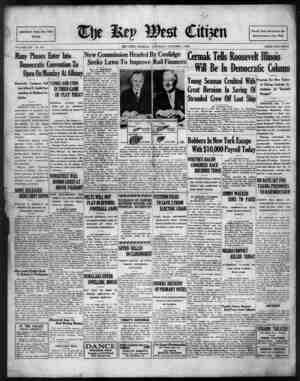 The Key West Citizen Gazetesi 1 Ekim 1932 kapağı