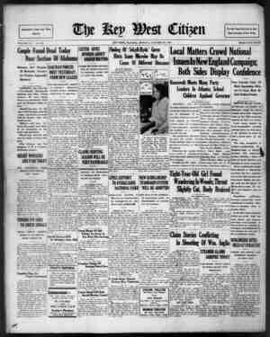The Key West Citizen Gazetesi 24 Ekim 1932 kapağı