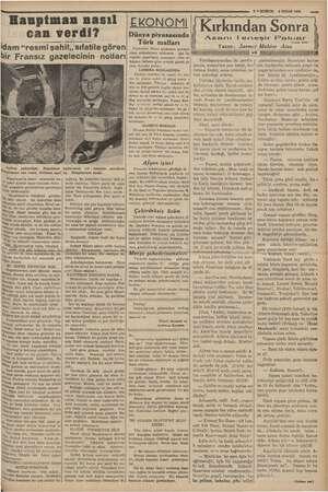 """gr ŞEK Hauptman nasıl can verdi? idam """"resmi şahit,, sıfatile gören bir Fransız gazetecinin notları » Soldan o yukarıdan:..."""