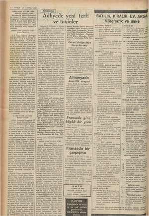 """6 — KURUN 23 TEMMUZ 1937 > ADET SİGARA TABA- KASI KAZANANLAR: , Ağamehmed mı lesi numara """" ni m yuce, Şehremini Saray..."""
