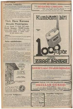 Zonguldak Valiliğinden: Zonguldak vilâyeti ii eğli — Devrek yol *000 — mk > Rİ arasında yapılac. e lira 48 kuruş re e şise