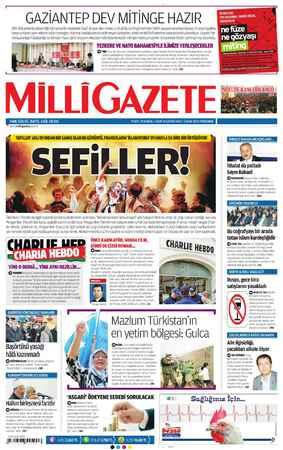 """GAZİANTEP DEV MİTİNGE HAZIR Milli Mücadele'de gösterdiği kahramanlık nedeniyle """"Gazi ünvanı alan Antep, 6 Ocak'da tarihi"""