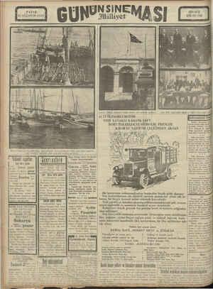 PAZAR 11 AĞUSTOS 1929 Mevsim münasebeti ile şehre kışlık odun ve kömür fazla gelmektedir. Fakat gene Hatlar yüksekti Bu...
