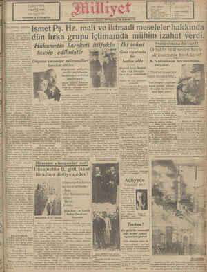 ÇARŞAMBA 7 MAYIS 1930 8 İnci reme, No 1523 NUSHASI 5 KURUŞTUR Kanunların tatbiki mnların hayatında iki saf yardır: Biri...