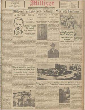 CUMARTESİ 17 MAYIS 1930 5 inci l:!ı-h 1580 NUSHASI 5 KURUŞTUR Cenevre görüşmeleri Cemiyeti Akvam Meclisinin İi dokuzuncu...