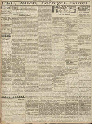MİLLİYET PAZAR 18 MAYIS — 1930 Mizan, Edebiyat, —SoaA Hilliyet 18 MAYIS 1980 — Telefon numaraları: İ_H_U 3911, 3912, 3913 gel