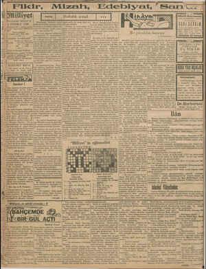 "illiyet m,_f Jlınn umdesi ""Milliyet"" tir 4 TEMMUZ 1930 İDAREHANE — Ankara caddesi 100 Telgraf adresi: Milliyet, İs- |..."