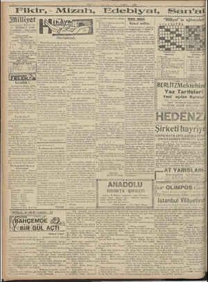 """ĞN Kreez SEYÜŞET Ş ÇN Te RAİ SEP AAA Bi ge a MİLİYr t """"Uxh*ı 21 TEMMUZ 1930 aasrın ümdesi """"Milliyet"""" tir 21 TEMMUZ 1930..."""