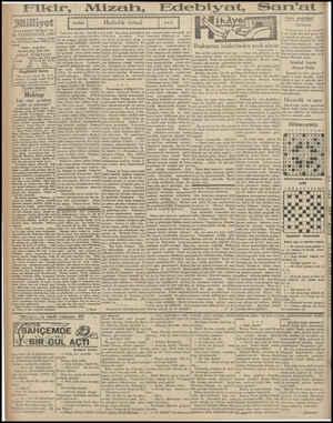 """b ; : k: mis GN nz ii i Ne llliş milliyet Asrın umdesi """"Milliyet"""" tir. 10 TEŞRİNİEVEL 1930 İDAREHANE — Ankara caddesi No: 100"""