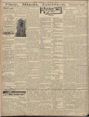 """B » » Mülliyet Asrın ümdesi <Müllget"""" tir, 79 TEŞRİNİEVEL 1930 """" İDAREHANE — Ankara caddesi > Tia: 100 Telgraf adresi:..."""