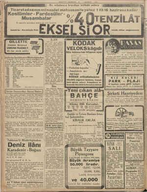MİLLİYET PAZARTESİ 1951   Bu müstesna fırsattan istifade ediniz Ticaretodasınınmüsaadei mahsusasile yalnız 1ilâ16 hazirana