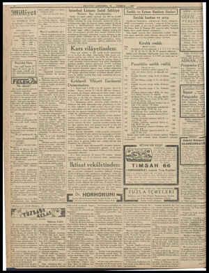1931 Anlenra cadde - IMUZ İDAREHANE — si No: 100 Telg istanbal, Telefon numaraları 24311 — 24312 — 24313 ABONE ÜC LERİ...