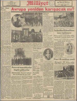 SS GSi Alman gazetelerinin yazdığı 'na göre Almanya ile Macaris- ve Romanya arasında imza İaman yeni ticaret mukaveleleri bu ayın on beşinde mevkii mer iyete girecektir. Bu mukavele- ile Macaristan ve Romanya' üday, arpa ve mısırına, güm İrük tarifelerinde yüzde yirmi (beş gibi mühim bir rüçhan ve- rilmektedir. Mukaveleler — imzalandığı Fakiriere Yardım Leydi Klark müsamere | hasılatını dün Belediyeye verdi lagiliz sefiresi Leydi Klark, İngiliz konsolosu ve belediye