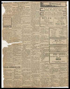 ginyet 1 K. SANI 1932 T(DAREHANE — Ankara cadde. 2: 100 Telgraf adresi: Milliyet, Bal | Tel efon numar: 710) — 24319 — 24318
