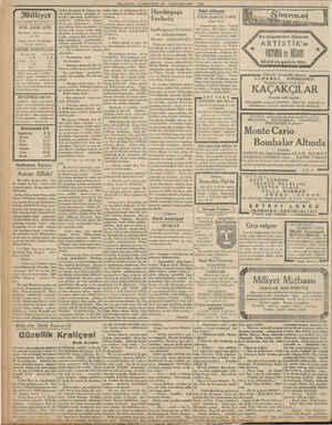 """Milliyet Asrın umdesi """"MİLLİYET"""" tir. 30K. SANİ 1932 İdarehane: Ankara caddesi, 100 No. Telgraf adresi: İst. Milliyet..."""