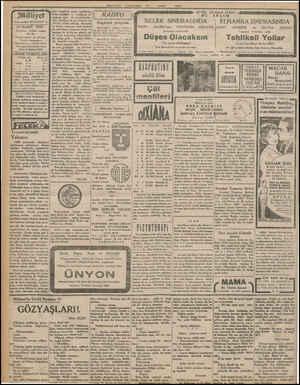 """Milliyet Asrm umdesi """"MİLLİYET"""" tir. 23 MART 1932 İdarehane: Ankara caddesi, 100 No. Telgraf adresi: İst. Milliyet Telefon"""