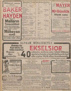 ' İstanbul Evkaf mü idiriyetinden: 1 CALAN ; Mahelis be meni — Sokağı Gini Möddeti icar o Ecrükigli 3 #7 Lira PE...