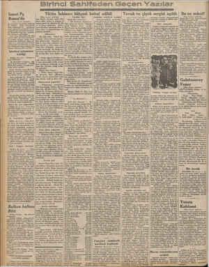 Ismet Pş. Roma'da (Başı birinci sahifede) #ki memleket Tayan İsmet Paşa Hazretleri ilk defa olarak 1922 senesinde Lausanne'