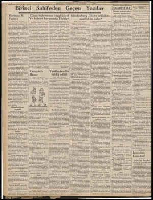 Mein Dalledei Geçen Yala Hindenburg - Hitler mülâkatı KerimanH. | Pariste | (Başı 1 ine de) | fırtınaları arasında, vakitli