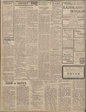 Milliyet Asrın umdesi «MİLLİY. 6 T.SANİ 1932 İdarehane: Ankara caddesi, 100 No. Telgraf adresi; İst, Milliyet Telefon...