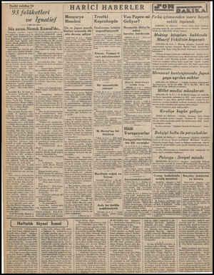 Tarihi tefrika: 24 93 felâketleri ve Ignatief Söz sırası Namık Kemal'de.. Herkeşin omuzları arasın dan soğuk bir titreme...