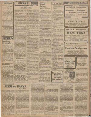 «mdesi «MİLLİYET» tr 25 T.SANİ 1932 İdarehane: oAnkara caddesi, 100 No. Telgraf adresi: İst, Milliyet Telefon Numaraları:
