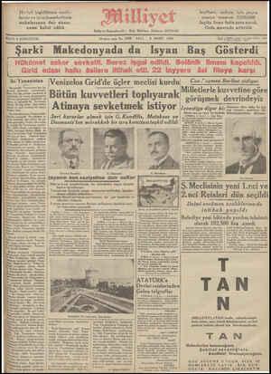 FIATI & KURUŞTUR. *ıo'....c..' sene No. 3258 SALI 5 MART 1935 | Te, ( Mötün zana »2.;._ işleri müdürü: 2619