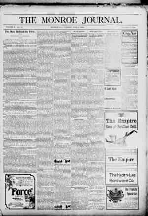 The Monroe Journal Gazetesi June 2, 1903 kapağı