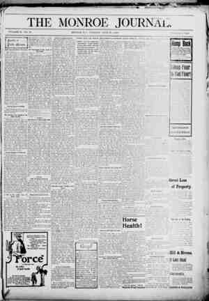 The Monroe Journal Gazetesi June 23, 1903 kapağı