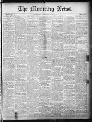 The Morning News Gazetesi 3 Mayıs 1887 kapağı